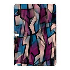 Purple High Art Samsung Galaxy Tab Pro 10 1 Hardshell Case by Valentinaart