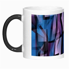 Purple Decorative Abstract Art Morph Mugs by Valentinaart