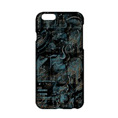 Blue Town Apple Iphone 6/6s Hardshell Case by Valentinaart