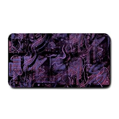 Purple Town Medium Bar Mats by Valentinaart