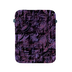 Purple Town Apple Ipad 2/3/4 Protective Soft Cases by Valentinaart