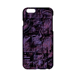 Purple Town Apple Iphone 6/6s Hardshell Case by Valentinaart