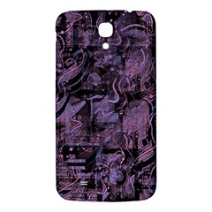 Purple Town Samsung Galaxy Mega I9200 Hardshell Back Case by Valentinaart