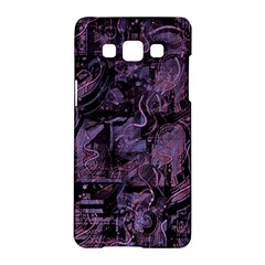 Purple Town Samsung Galaxy A5 Hardshell Case  by Valentinaart