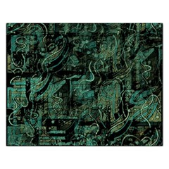 Green Town Rectangular Jigsaw Puzzl