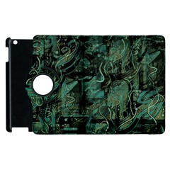 Green Town Apple Ipad 3/4 Flip 360 Case