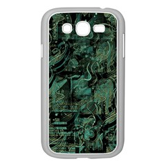 Green Town Samsung Galaxy Grand Duos I9082 Case (white) by Valentinaart