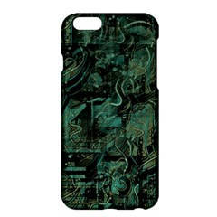 Green Town Apple Iphone 6 Plus/6s Plus Hardshell Case by Valentinaart