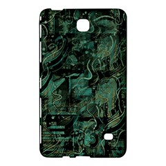 Green Town Samsung Galaxy Tab 4 (8 ) Hardshell Case  by Valentinaart