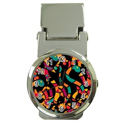 Colorful Snakes Money Clip Watches