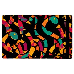Colorful Snakes Apple Ipad 2 Flip Case by Valentinaart
