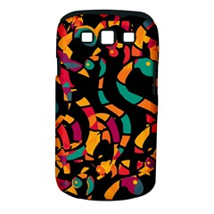 Colorful Snakes Samsung Galaxy S Iii Classic Hardshell Case (pc+silicone) by Valentinaart