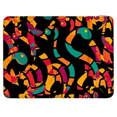 Colorful Snakes Samsung Galaxy Tab 7  P1000 Flip Case by Valentinaart