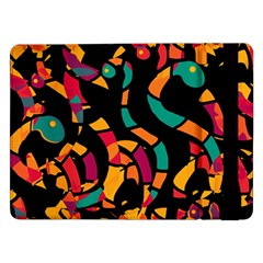 Colorful Snakes Samsung Galaxy Tab Pro 12 2  Flip Case