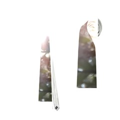 Sun Rays Through White Cherry Blossoms Neckties (one Side)
