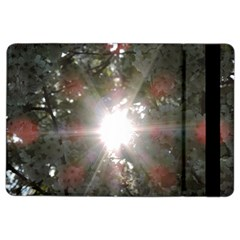 Sun Rays Through White Cherry Blossoms Ipad Air 2 Flip by picsaspassion