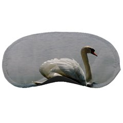 Swimming White Swan Sleeping Masks by picsaspassion