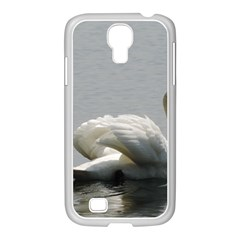Swimming White Swan Samsung Galaxy S4 I9500/ I9505 Case (white)