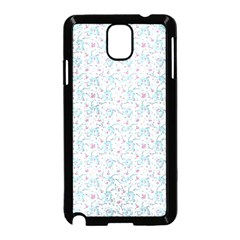 Intricate Floral Collage  Samsung Galaxy Note 3 Neo Hardshell Case (black) by dflcprintsclothing