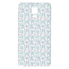 Intricate Floral Collage  Galaxy Note 4 Back Case by dflcprintsclothing