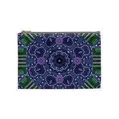 Star Of Mandalas Cosmetic Bag (medium)  by pepitasart
