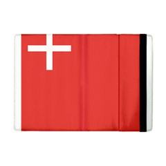 Flag Of Canton Of Schwyz Apple Ipad Mini Flip Case by abbeyz71