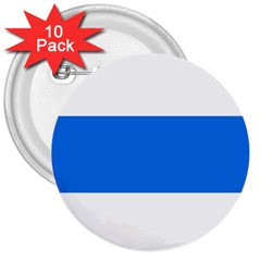 Flag Of Canton Of Zug 3  Buttons (10 Pack)  by abbeyz71