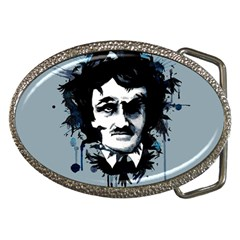 Edgar Allan Crow Belt Buckles by lvbart