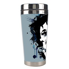 Edgar Allan Crow Stainless Steel Travel Tumblers by lvbart