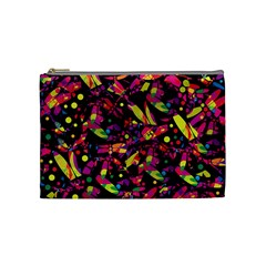 Colorful Dragonflies Design Cosmetic Bag (medium)  by Valentinaart