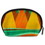 Orange and green landscape Accessory Pouches (Large)  Back
