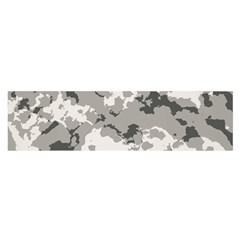 Winter Camouflage Satin Scarf (oblong)