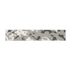 Winter Camouflage Flano Scarf (mini) by LetsDanceHaveFun