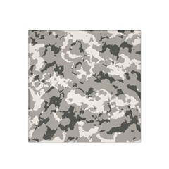 Winter Camouflage Satin Bandana Scarf by LetsDanceHaveFun