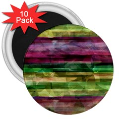 Colorful Marble 3  Magnets (10 Pack)  by Valentinaart