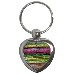 Colorful Marble Key Chains (heart)  by Valentinaart