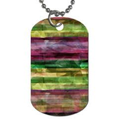 Colorful Marble Dog Tag (one Side) by Valentinaart