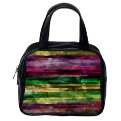 Colorful Marble Classic Handbags (one Side) by Valentinaart