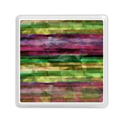 Colorful Marble Memory Card Reader (square)  by Valentinaart