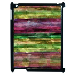 Colorful Marble Apple Ipad 2 Case (black) by Valentinaart