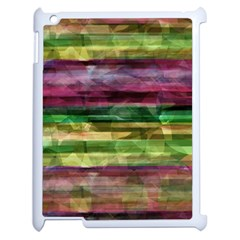 Colorful Marble Apple Ipad 2 Case (white) by Valentinaart