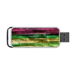 Colorful Marble Portable Usb Flash (one Side) by Valentinaart