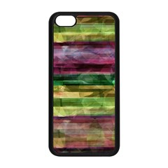 Colorful Marble Apple Iphone 5c Seamless Case (black)