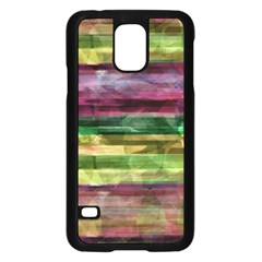Colorful Marble Samsung Galaxy S5 Case (black) by Valentinaart