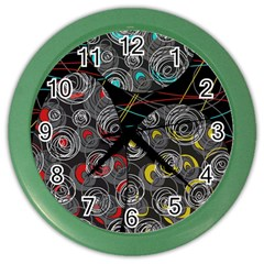 Crush  Color Wall Clocks by Valentinaart