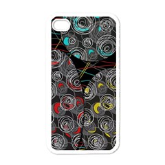 Crush  Apple Iphone 4 Case (white) by Valentinaart