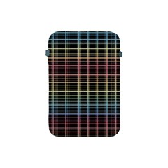 Neon Plaid Design Apple Ipad Mini Protective Soft Cases by Valentinaart