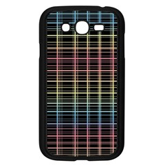 Neon Plaid Design Samsung Galaxy Grand Duos I9082 Case (black) by Valentinaart