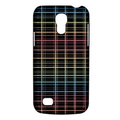 Neon Plaid Design Galaxy S4 Mini by Valentinaart