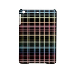 Neon Plaid Design Ipad Mini 2 Hardshell Cases by Valentinaart